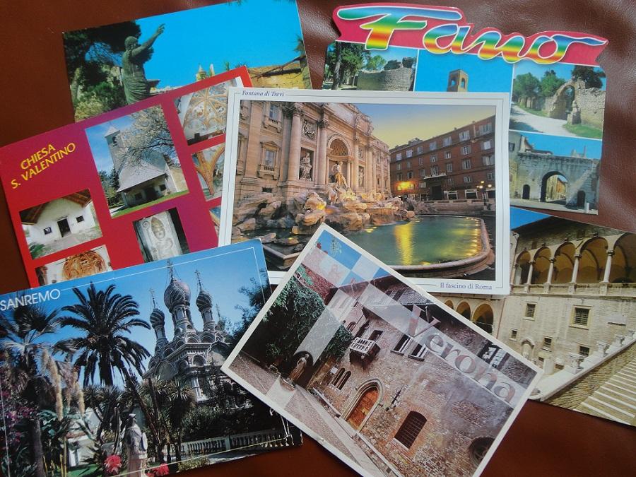 Открытка из Италии от автора блога МОЯ ИТАЛИЯ - подарок моим читателям