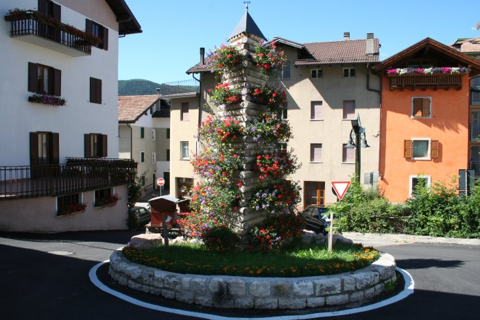 фото площадь Фолгарии лето Италия