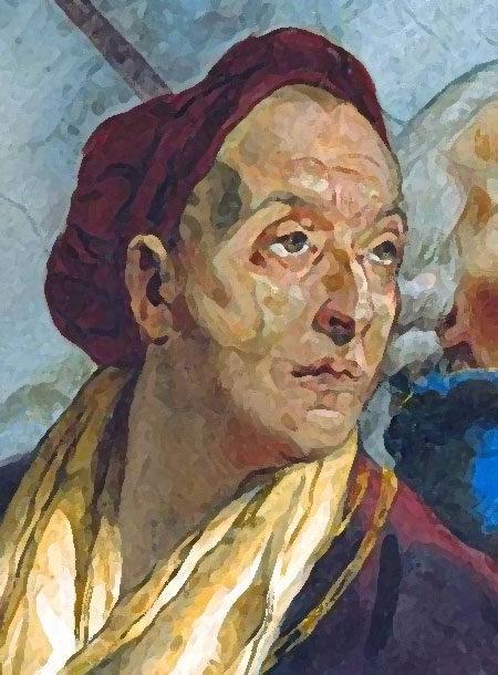 фото портрета Giambattista Tiepolo