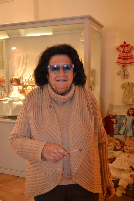 фото сеньора Graziella Gardin Pasini - владелиц музея кукол в Равенне