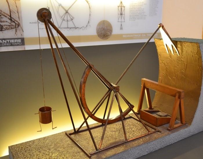 в Национальном музее науки и технологий Леонардо да Винчи Милан