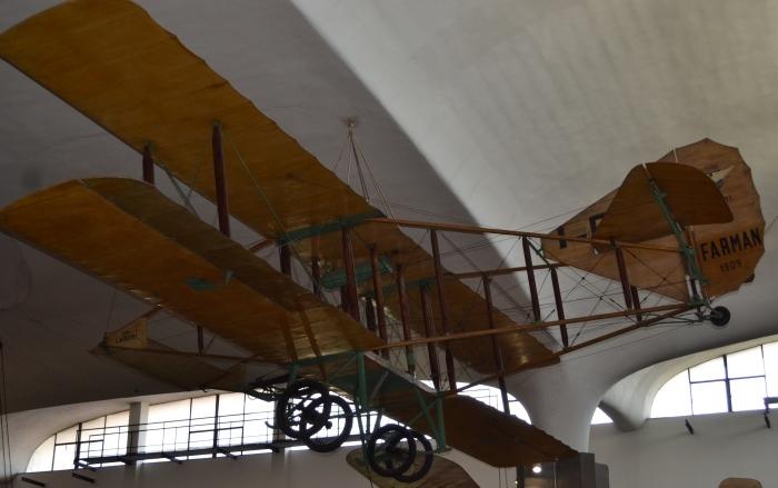 фото фанерного кукурузника в Музее науки и техники имени Леонардо да Винчи Милан