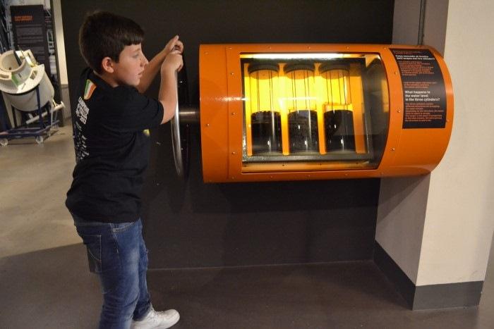 """фото экспоната Национального музея науки и технологий Леонардо да Винчи""""Милан"""