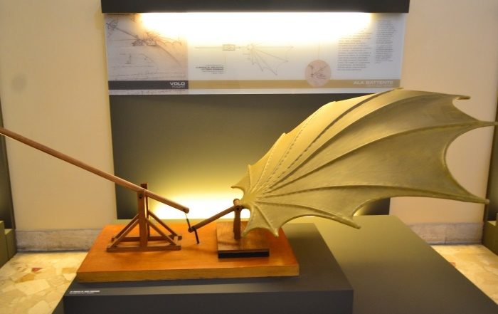 "фото из Национального музея науки и технологий Леонардо да Винчи""Милан"