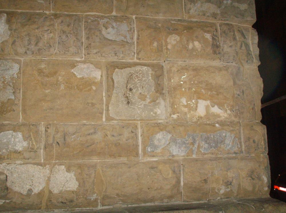 фото Importuno на стене Палаццо Веккио Флоренция