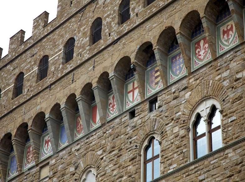фото фрагмента Палаццо Веккио Флоренция