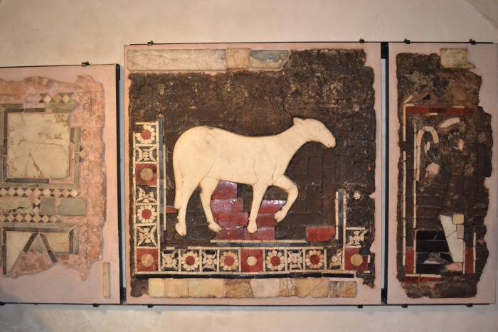 фото фресок в базилике Св.Амворозия Милан