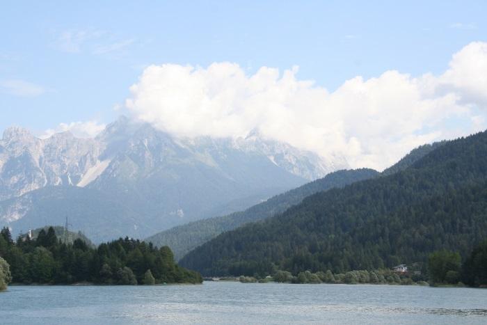 фото Альп летом в Auronzo di Cadore