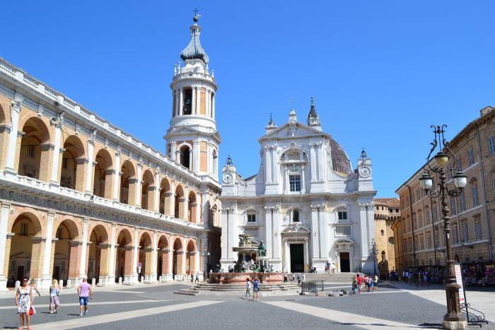 фото Города Лорето - Святой Дом Богородицы