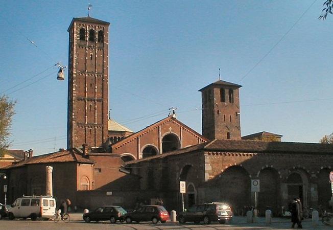 фото базилики Св.Амброзия Милан