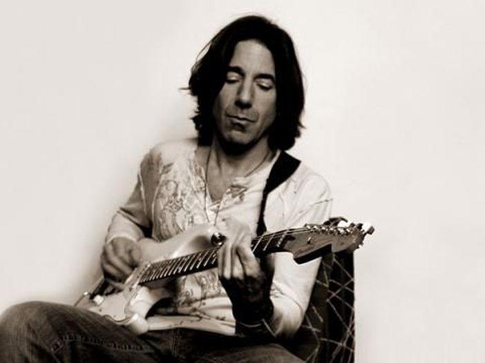 foto Stef Burns - гитарист из группы Васко Росси