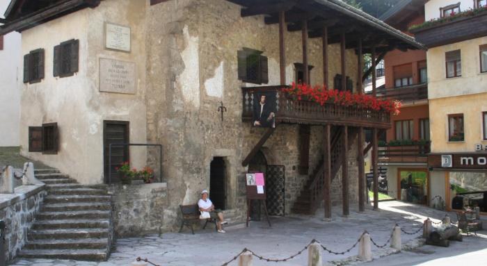 фото Дома, где родился и жил до 10 лет Тициан в Pieve-di-Cadore