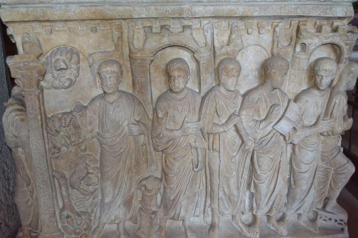 фото саркофага Стилихона (IVвек) Милан