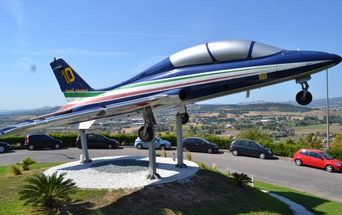 Экспонат музея Аэронавтики.
