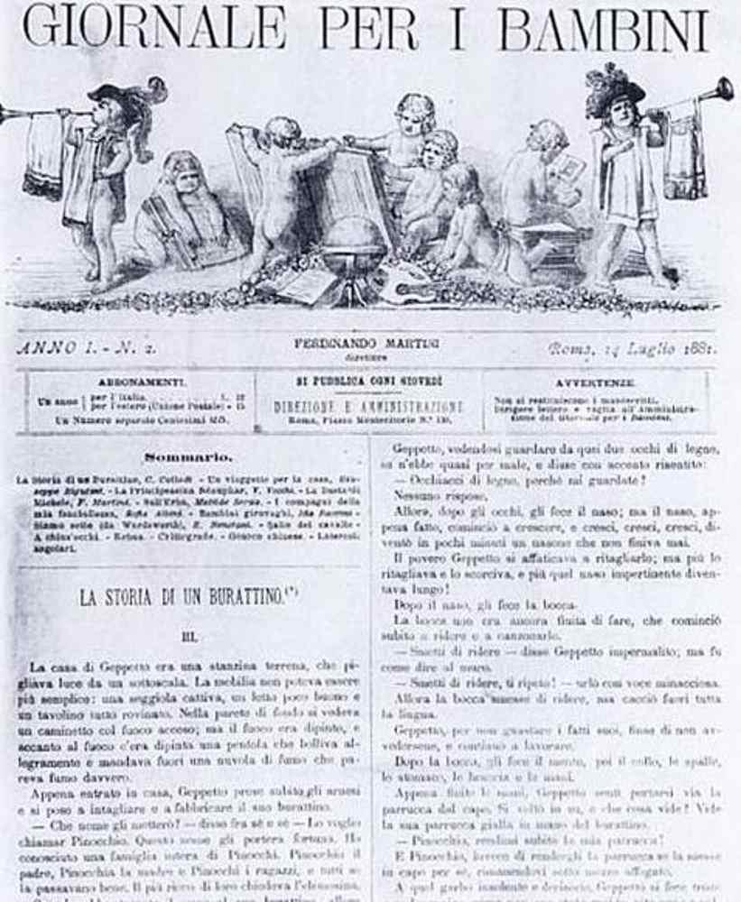 Пиноккио, Буратино и папа Карло