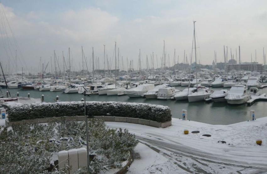 фото Римини зимой