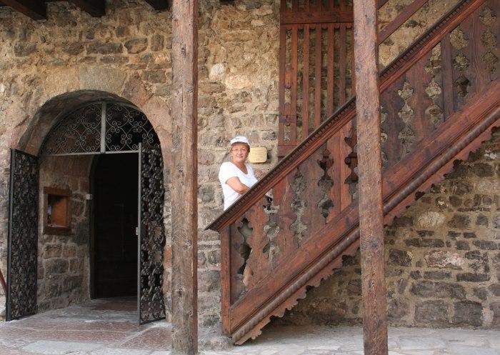 фото Лестницы, ведущая на второй этаж дома Тициана