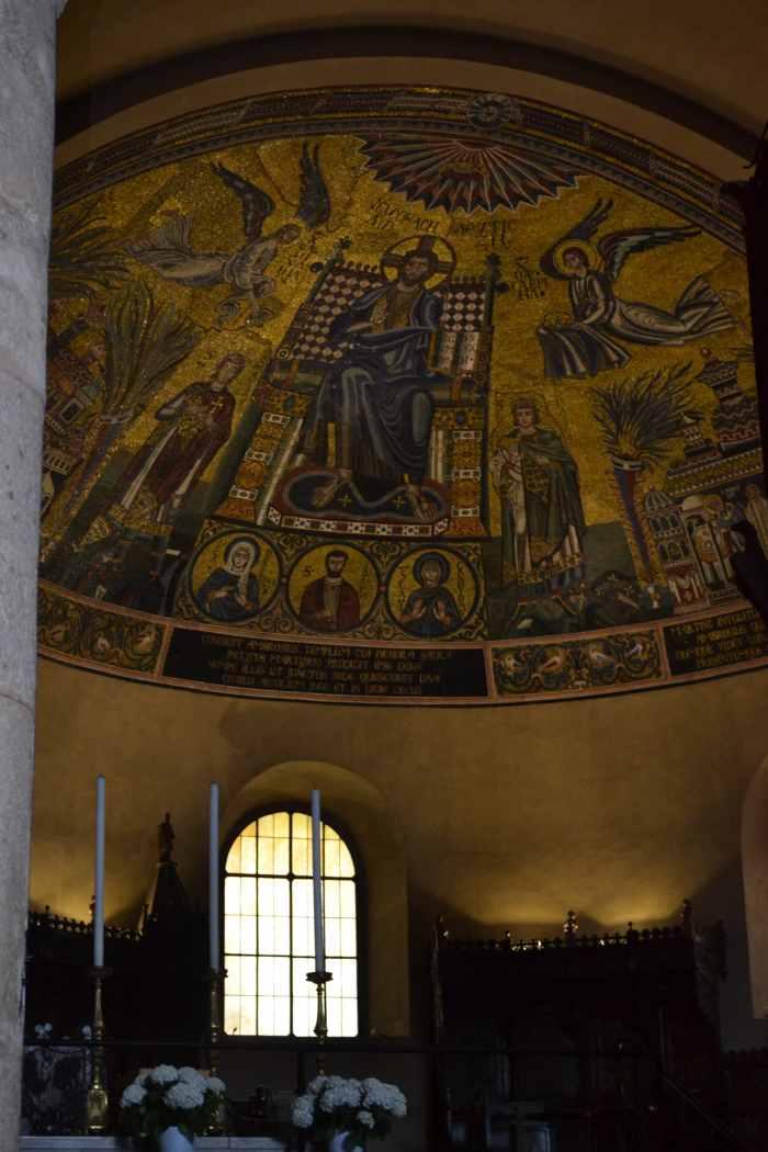 фото Знаменитой мозаики Св.Амброзио