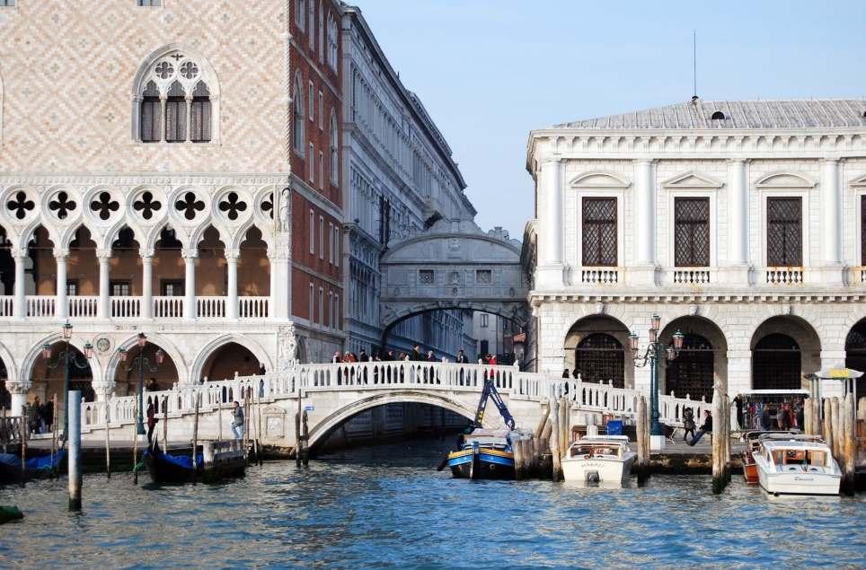 фото моста Вздохов, Венеция