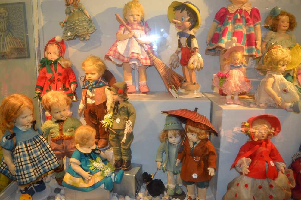 персонажи в музее кукол в Равенне