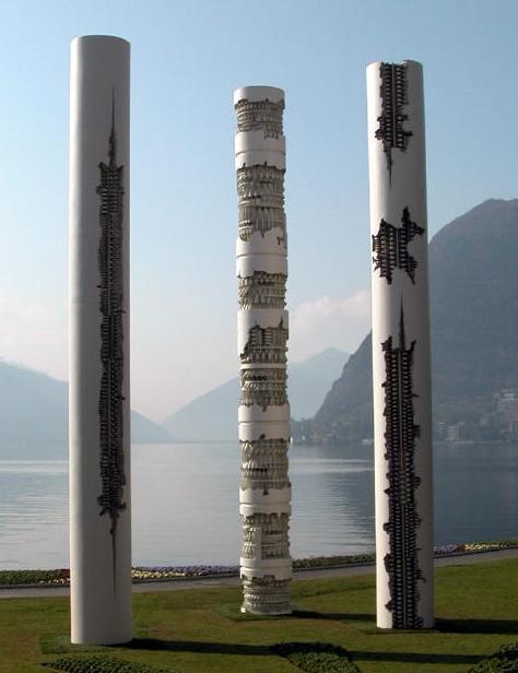 """фото """"Триада"""" Арнальдо Помодоро, г.Лугано (Швейцария)"""