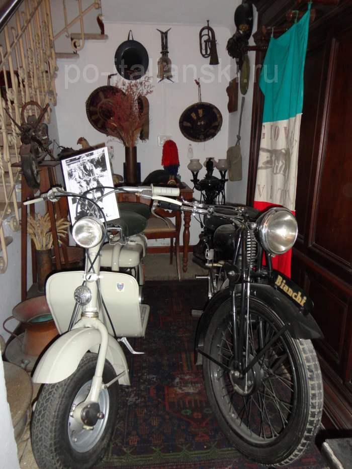 фото Коллекции мотоциклов Муссолини на вилле в Преддапьо