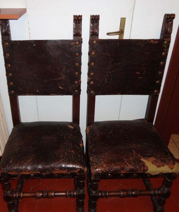 фото стульев на вилле Муссолини в Преддапьо