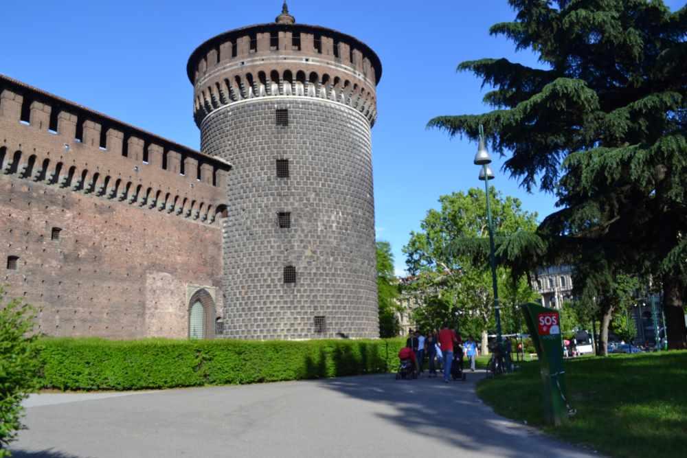 Прогулки по Милану-день второй